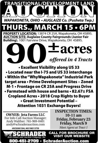 90 acres