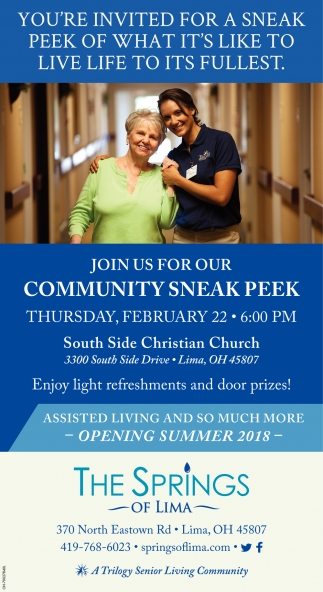 Community Sneak Peek