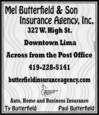 Auto, Home and Business Insurance, Mel Butterfield & Son Insurance ...