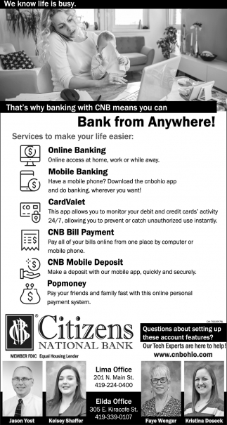 Bank from Anywhere!