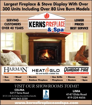 visit our showrooms today kerns fireplace spa lima oh rh local limaohio com Isokern Fireplace Isokern Fireplace