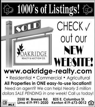 1000's of listings!