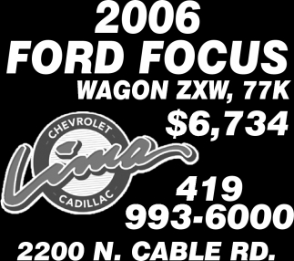 2006 Ford Focus Wagon ZXW