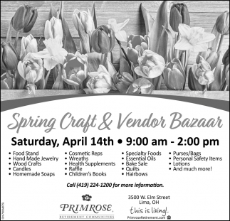 Spring Craft & Vendor Bazaar