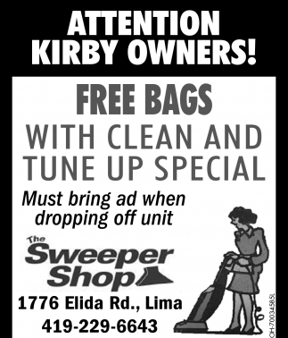 Kirby Owners: Free Bags