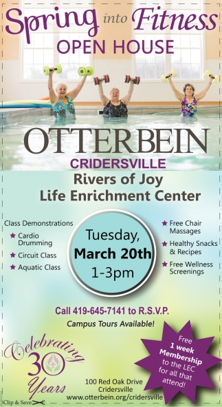 Spring into Fitness Open House