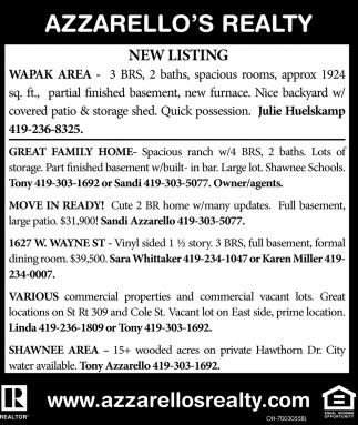 New Listing
