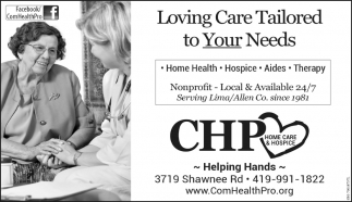 Home Health, Hospice, Aides, Therapy