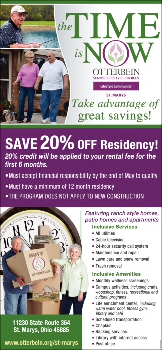 Save 20% off residency!