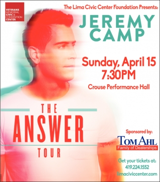 Jeremy Camp The Answer Tour