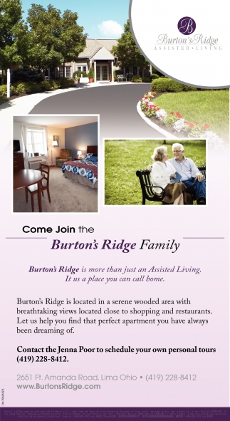 Come Join the Burton's Ridge Family