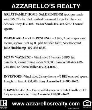 Homes, Properties