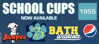 School cups NOW AVAILABLE