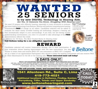 Wanted 25 seniors