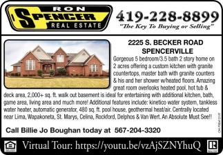 225 S. Becker Road. Spencerville