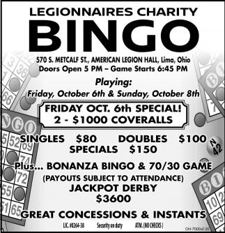 Bonanza Bingo and Jackpot Derby
