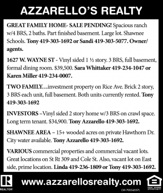 Homes, Properties