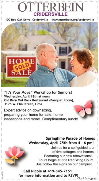 It's Your Move, Workshop for Seniors
