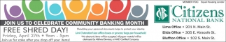 Community Banking Month