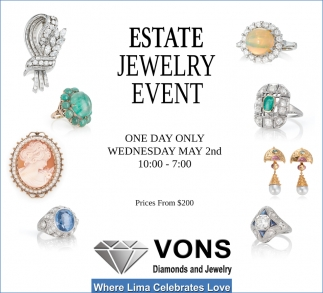 Estate Jewelry Event