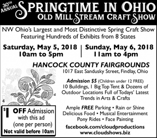 30th Annual Springtime in Ohio