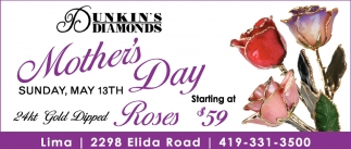 Mother's Day Roses Starting at $59