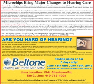Microchips Bring Major Changes to Hearing Care, Beltone