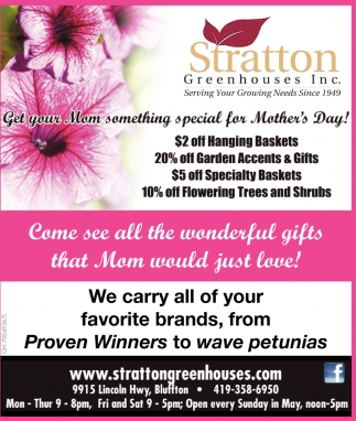 Get your Mom something special for Mother's Day!