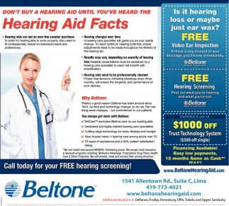 Hearing Aid Facts