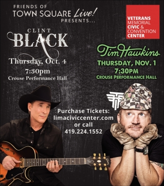Clint Black, Tim Hawkins