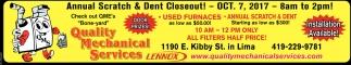 Annual Scratch & Dent Closeout