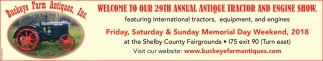 29th Annual Antique Tractor and Engine Show