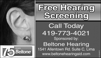 Free Hearing Screening