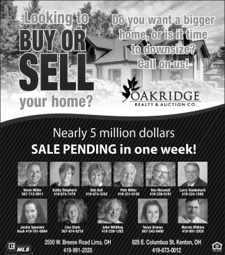 Nearly 5 million dollars sale pending in one week!