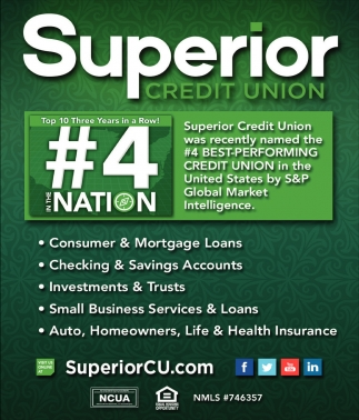 4 Best Performing Credit Union
