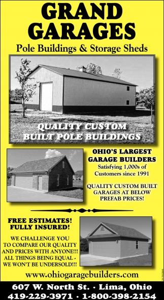 Quality custom built pole buildings