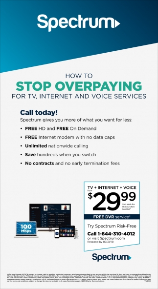 TV, Internet & Voice Service