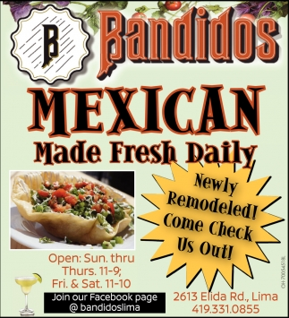 Mexican Made Fresh Daily