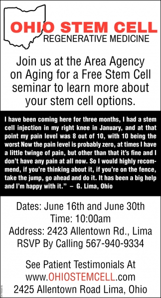 Regenerative stem cell therapy