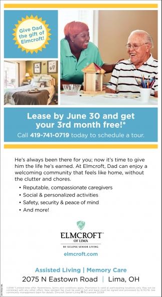 Elmcroft Senior Living Tourism Company And Tourism