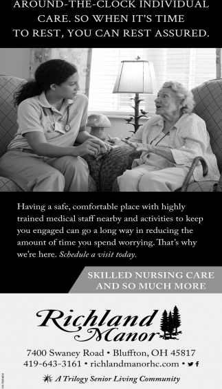 Skilled Nursing Care and so much more