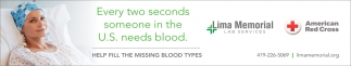 Help fill the missing blood types