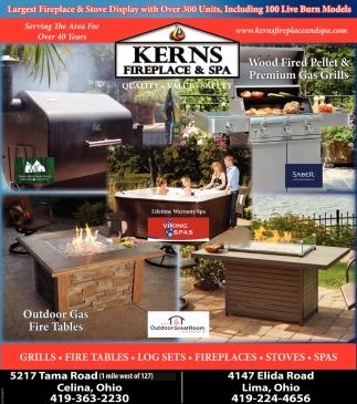 Amazing Kerns Fireplace Part - 12: The Lima News