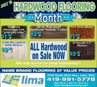 July is Hardwood Flooring