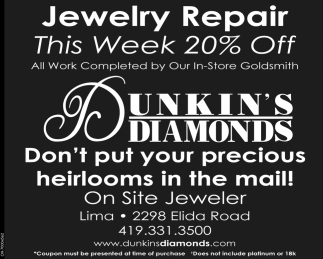 Jewelry Repair This Week 20% OFF