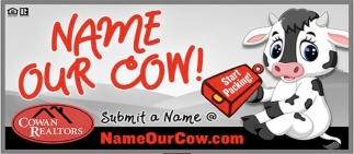 Name our cow!