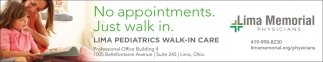 Lima Pediatrics Walk-in Care