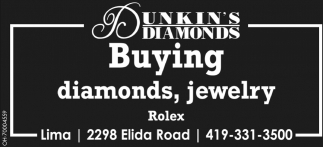 Buying diamonds, jewelry