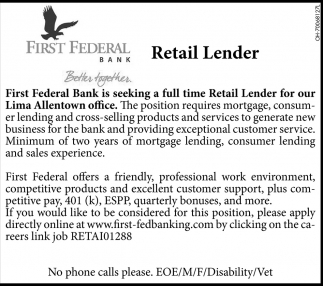 Retail Lender