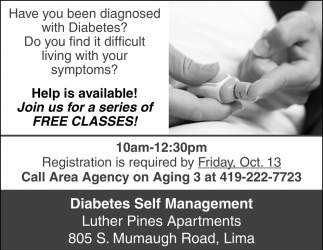 Have you been diagnosed with Diabetes?